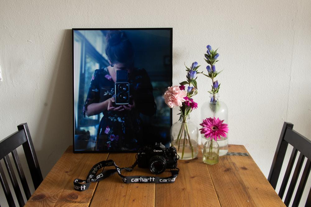 Fotovergroting mét lijst | REVIEW